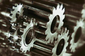 industrial gears and cogs