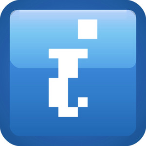 Info Blue Tiny App Icon