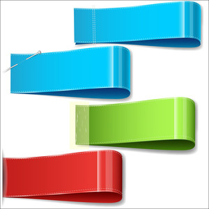 Info Web Banner Ribbons