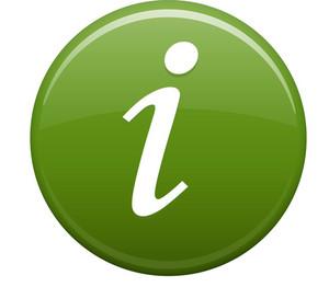 Information Green Circle