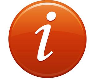 Information Orange Circle
