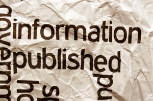 Information Published