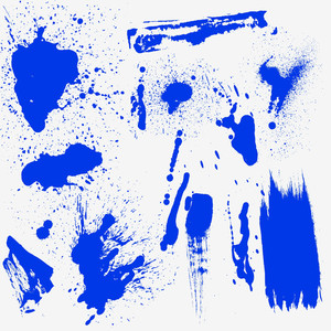 Ink Splashes Vectors