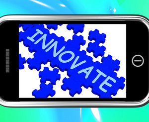 Innovate On Smartphone Shows Creativity