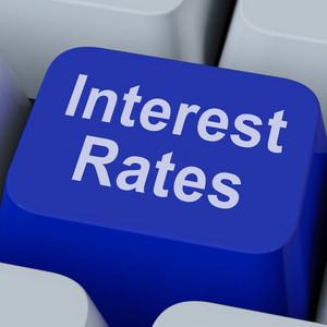 Interest Rate Key Shows Investment Percent Online