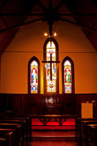 Interior Of Camp Church