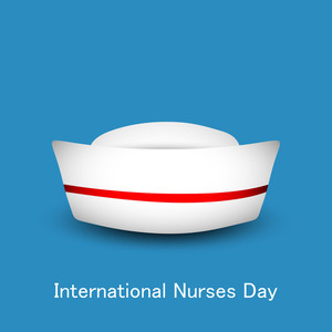 International Nurse Day Concept With Nurse Cap