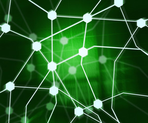 Internet Green Background