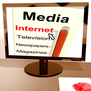 Internet Media Gauge Shows Marketing Online