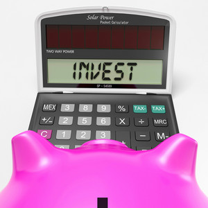 Invest Calculator Shows Deposit In Growing Savings