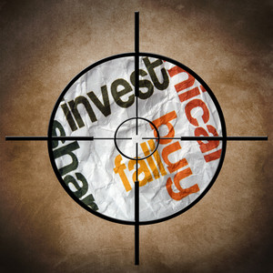 Invest Fall Target Concept