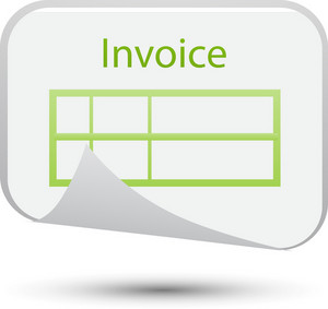 Invoice Lite Ecommerce Icon