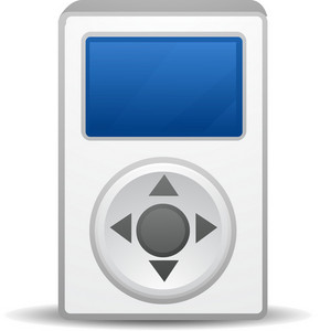 Ipod Blue Lite Media Icon