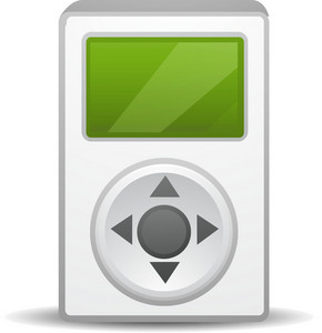 Ipod Green Lite Media Icon
