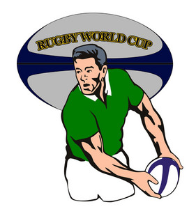 Ireland Rugby World Cup Player