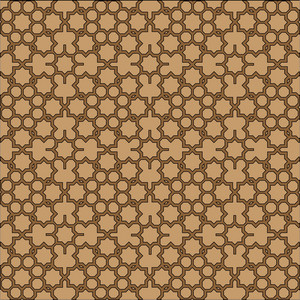 Islamic Geometric Background.