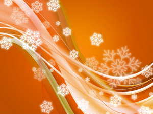 Isolated Flakes Background