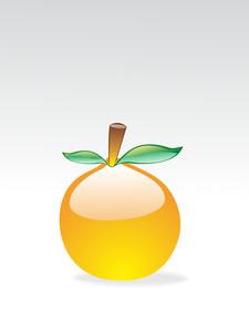 Isolated Glossy Fruit