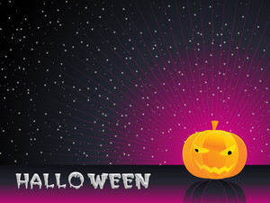 Isolated Pumpkin With Background