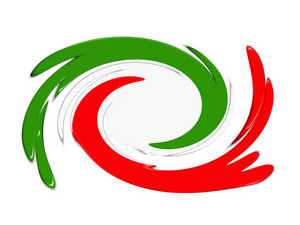 Italy Abstarct Twirl 3d