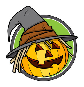 Jack O' Lantern - Halloween Vector Illustration