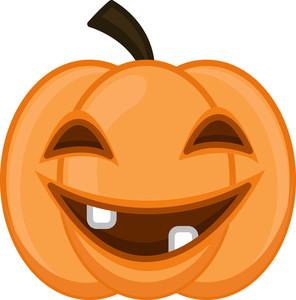Jack O' Lantern On Halloweeen