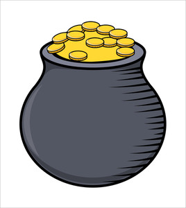 Jackpot Pot - Vector Illustration