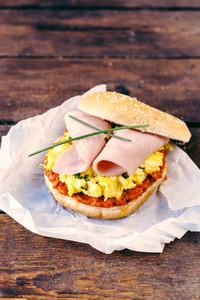 Pub Egg Sandwich