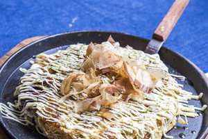 Japanese Pizza Okonomiyaki