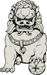 Japanese Traditional Fu Lion
