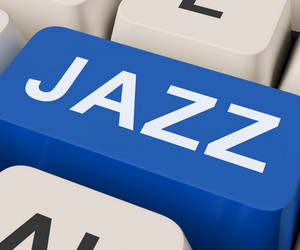 Jazz Key Shows Concert Band Or Music