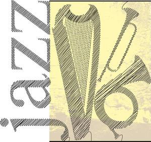 Jazz Sketch. Vector Illustration