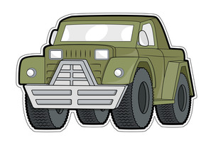 Jeep Vector Sticker