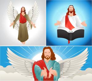 Jesus Vector Characters