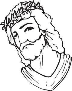 Jesus Vector Element