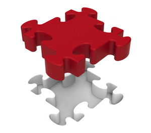 Jigsaw Piece Shows Individual Object Problem