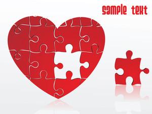 Jigsaw Puzzle Heart