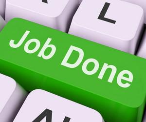 Job Done Key Means Finish