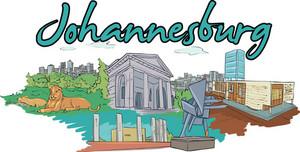 Johannesburg Vector Doodle