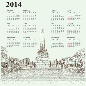 Jose Rizal 2014 Calendar