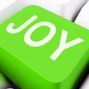 Joy Keys Mean Enjoy Or Happy