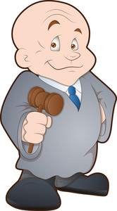 Judge - Cartoon Character