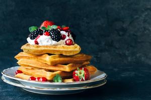 Juicy Waffles