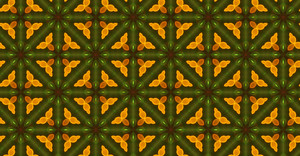 Kaleidoscope Abstract Pattern