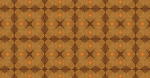 Kaleidoscope Abstract Vintage Pattern