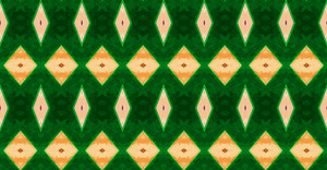 Kaleidoscope Festive Pattern Backdrop