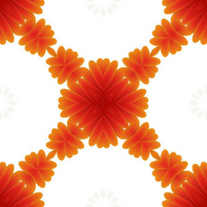 Kaleidoscope Flourish Backdrop