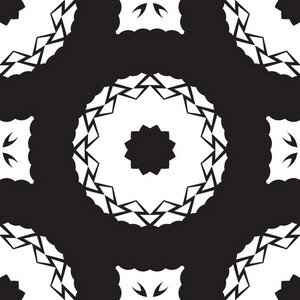 Kaleidoscope Retro Design Bg