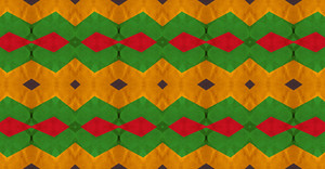 Kaleidoscope Retro Graphic Pattern