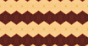 Kaleidoscope Retro Pattern